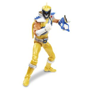 [Power Rangers: Dino Charge: Lightning Collection Action Figure: Gold Ranger (Product Image)]