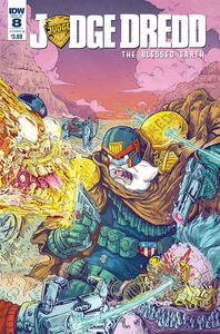 [Judge Dredd: Blessed Earth #8 (Cover B Vazquez) (Product Image)]