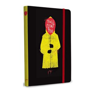 [IT: Softcover Notebook: You'll Float Too (Product Image)]