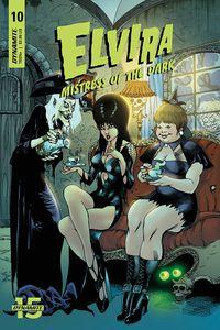 [Elvira: Mistress Of The Dark #10 (Castro Variant) (Product Image)]