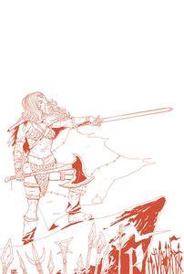 [Vampirella/Red Sonja #6 (Moss Tint Virgin Variant) (Product Image)]