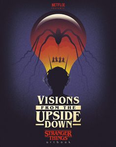 [Visions From The Upside Down: A Stranger Things Artbook (Hardcover) (Product Image)]