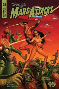 [Warlord Of Mars Attacks #2 (Cover A Hildebrandt) (Product Image)]