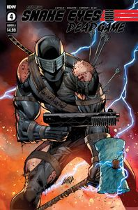[Snake Eyes: Deadgame #4 (Cover A Liefeld) (Product Image)]