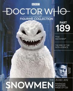 [Doctor Who Figurine Collection #189: Snowman (Product Image)]