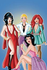 [Red Sonja & Vampirella Meet Betty & Veronica #10 (Parent Virgin Variant) (Product Image)]