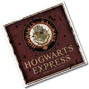 [Harry Potter: Ceramic Coaster: Hogwarts Railways (Product Image)]