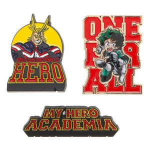 [My Hero Academia: Lapel Pins (3 Pack) (Product Image)]
