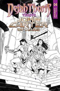[Dejah Thoris Vs John Carter Of Mars #4 (Cover E Miracolo Black & White Variant) (Product Image)]