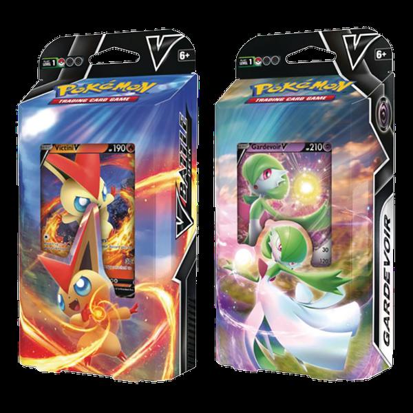 [The cover for Pokémon: Trading Card Game: Victini V Or Gardevoir V Battle Deck]