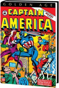 [Golden Age: Captain America: Omnibus: Volume 2 (Avison DM Variant Hardcover) (Product Image)]