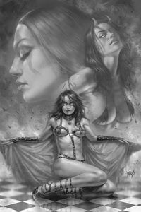 [Red Sonja: Age Of Chaos #2 (Parrillo Black & White Virgin Variant) (Product Image)]