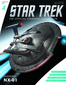 [Star Trek: Starships Figure Collection Magazine #4 Enterprise NX-01 (Product Image)]