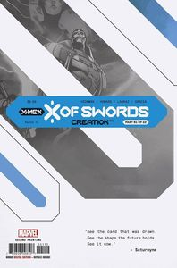 [X Of Swords: Creation #1 (2nd Printing Larraz Variant) (Product Image)]