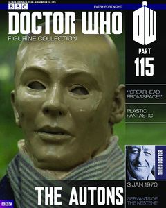 [Doctor Who: Figurine Collection Magazine #115 Auton (Product Image)]