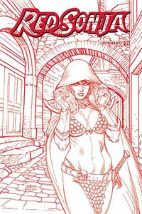 [Red Sonja #21 (Linsner Tint Variant) (Product Image)]