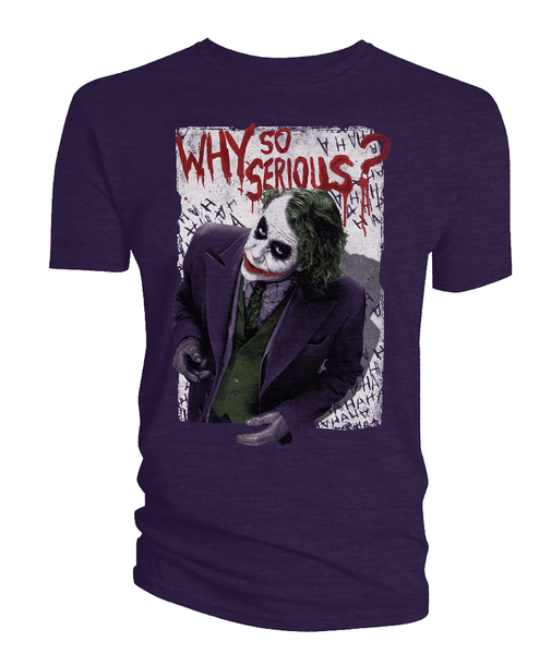 [The cover for The Dark Knight: T-Shirt: Why So Serious?]