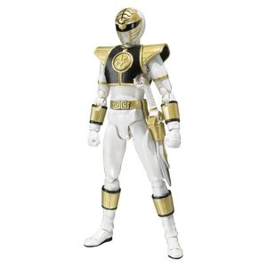 [Mighty Morphin Power Rangers: SH Figuarts Action Figure: White Ranger (Product Image)]