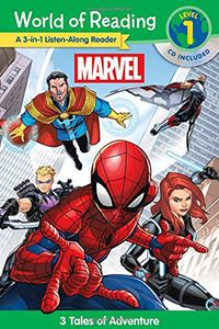 [World Of Reading: Marvel 3-In-1 Listen-Along: 3 Tales Of Adventure (Product Image)]