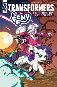 [My Little Pony/Transformers #1 (Lawrence Variant) (Product Image)]