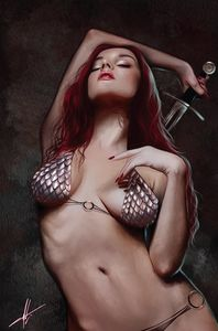 [Invincible Red Sonja #1 (Cohen Virgin Variant) (Product Image)]