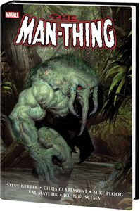 [Man-Thing: Omnibus (Olivetti Cover New Printing Hardcover) (Product Image)]