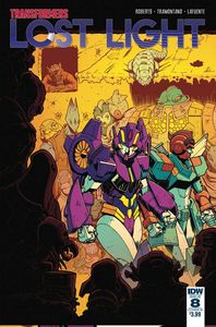 [Transformers: Lost Light #8 (Cover B Roche) (Product Image)]
