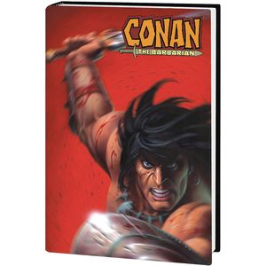 [Conan: The Barbarian: By Kurt Busiek: Omnibus (Linsner DM Variant Hardcover) (Product Image)]