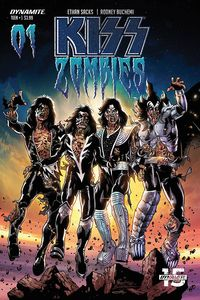 [KISS: Zombies #1 (Cover C Buchemi) (Product Image)]