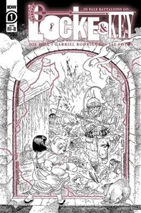 [Locke & Key: In Pale Battalions Go #1 (Rodriguez Black & White Variant) (Product Image)]