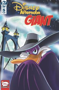 [The cover for Disney: Afternoon Giant #5]
