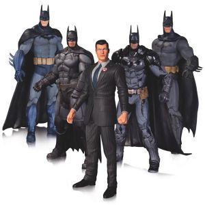 [DC: Arkham: Batman: Action Figure Set (Product Image)]