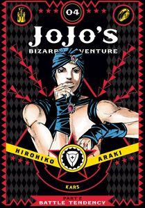 [Jojo's Bizarre Adventure: Part 2 - Battle Tendency: Volume 4: (Hardcover) (Product Image)]