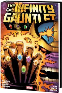 [Infinity Gauntlet: Omnibus (Starlin DM Variant New Printing Hardcover) (Product Image)]