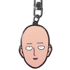 [One Punch Man: Keychain: Saitamas Head (Product Image)]