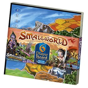 [Small World: Expansion: 6 Player Board (Product Image)]