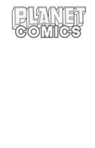 [Planet Comics: Sketchbook (One Shot) (White Star Edition) (Product Image)]