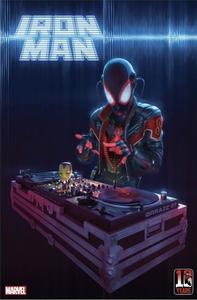 [Iron Man #12 (Rahzzah Miles Morales 10th Anniv Variant) (Product Image)]