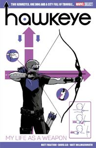 [Marvel Select: Bookazine: Hawkeye: My Life As A Weapon (Product Image)]