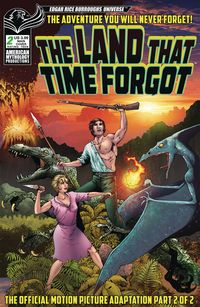 [The cover for The Land That Time Forgot: 1975 #2]