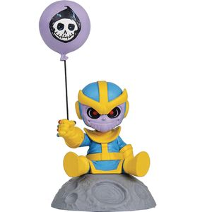 [Marvel: Mini Heroes Animated PVC Statue: Thanos (Product Image)]