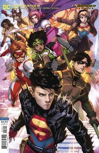 [Young Justice #18 (Card Stock Derrick Chew Variant Edition) (Product Image)]