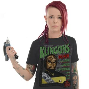 [Star Trek: The Next Generation: T-Shirt: Klingons Do Not (Destination Star Trek 2019 Exclusive) (Product Image)]
