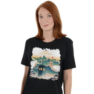 [Doctor Who: T-Shirt: The Great Wall Of China (Product Image)]