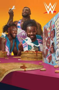 [WWE: The New Day: Power Of Positivity #1 (Cover C Rahzzah Variant) (Product Image)]
