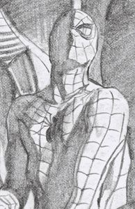 [Amazing Spider-Man #50 (Timeless Virgin Sketch Variant) (Product Image)]
