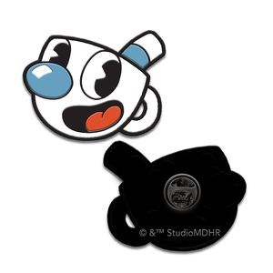 [Cuphead: Enamel Pin Badge: Mugman (Product Image)]