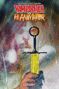 [Vampirella Vs Reanimator #2 (Cover B Sayger) (Product Image)]