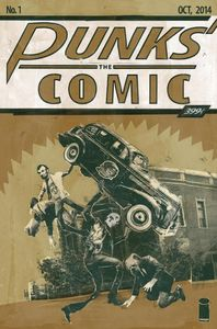 [Punks: The Comic #1 (Phantom Variant) (Product Image)]
