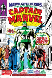 [True Believer: Captain Mar-Vell #1 (Product Image)]